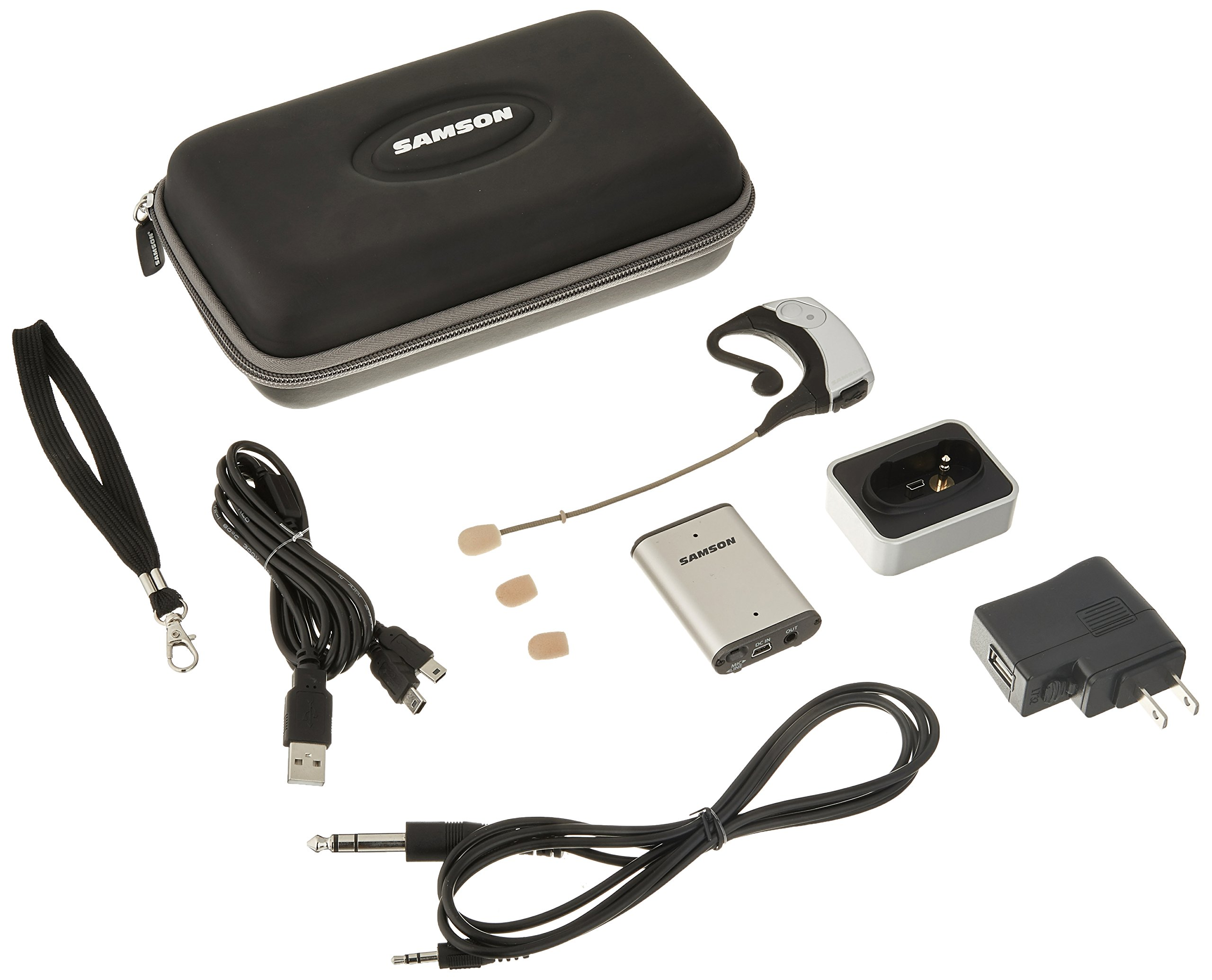 Samson AirLine Micro Earset Wireless System with Water-Resistant Micro Earset Transmitter (Channel K1) by Samson Technologies