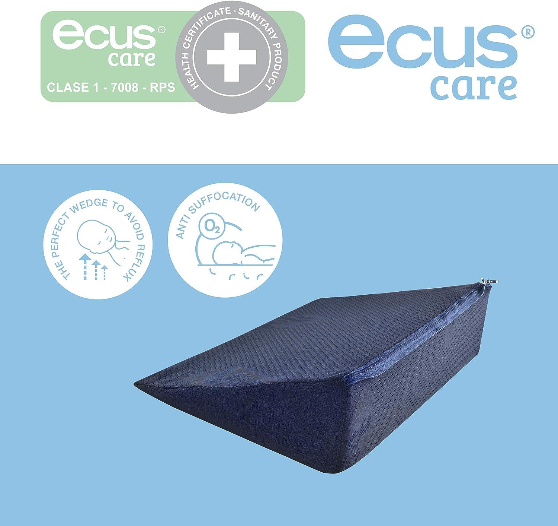 Ecus Care, cuña UP antireflujo para colchón de cuna Ecus Care, 50