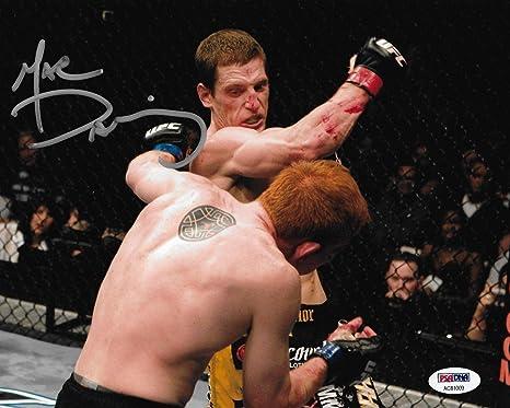 Mac Danzig Signed UFC 83 8x10 ...