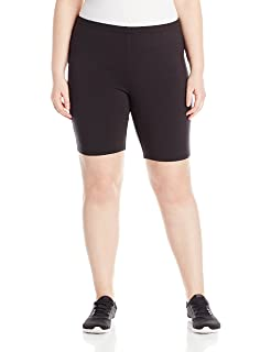 86e707e637715 Just My Size Womens Plus-Size Stretch Jersey Capri Legging Just My Size  Activewear OJ256