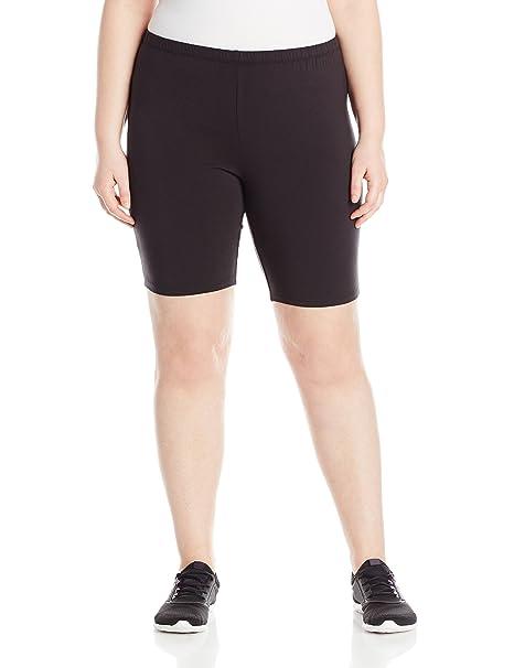 fd6bf6e2b11 Just My Size Women s Plus-Size Stretch Jersey Bike Short  Amazon.ca ...