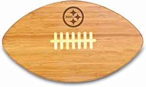 NFL Pittsburgh Steelers Touchdown Pro! Bamboo Cutting Board, 16-Inch