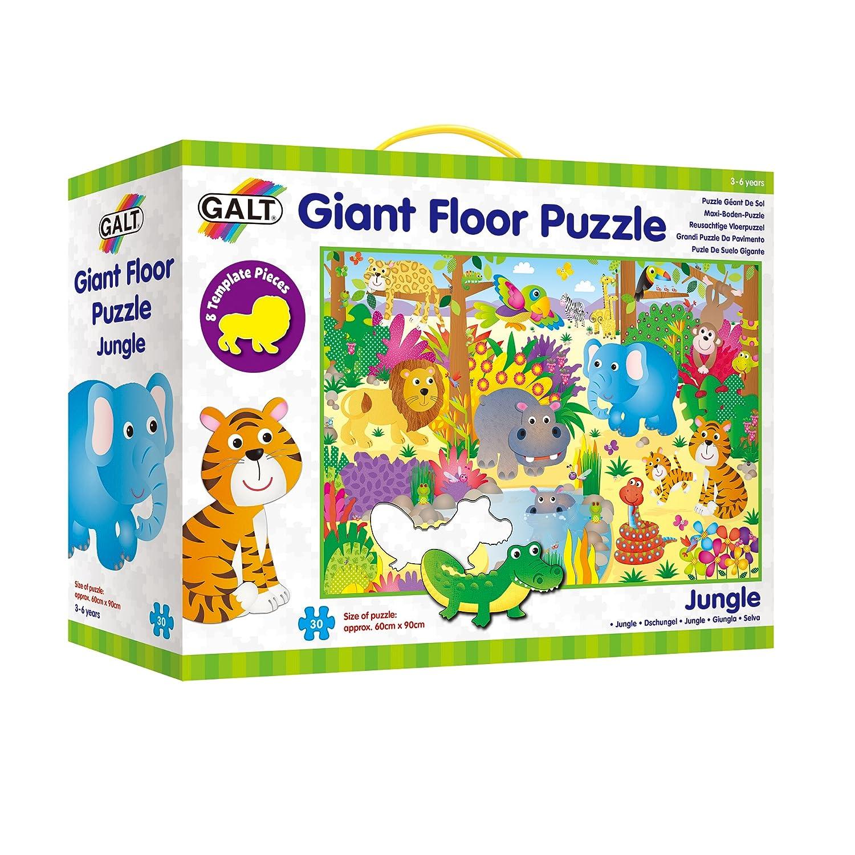 Galt, Puzzle de Suelo de 30 Piezas, 60x90 cm: Amazon.es: Juguetes y ...