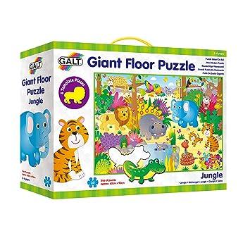 giant puzzle  Galt Toys Giant Floor Puzzle Jungle: Amazon.: Toys & Games