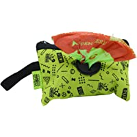 Wags & Wiggles Waste Bag Dispenser with 30 Dog Poop Bags | Pineapple Scented Doggie Bags & Adorable Dispenser