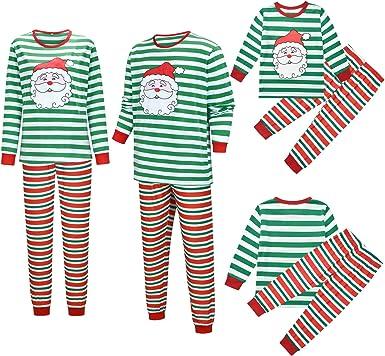 Conjunto de pijama familiar de Navidad a juego con parte ...