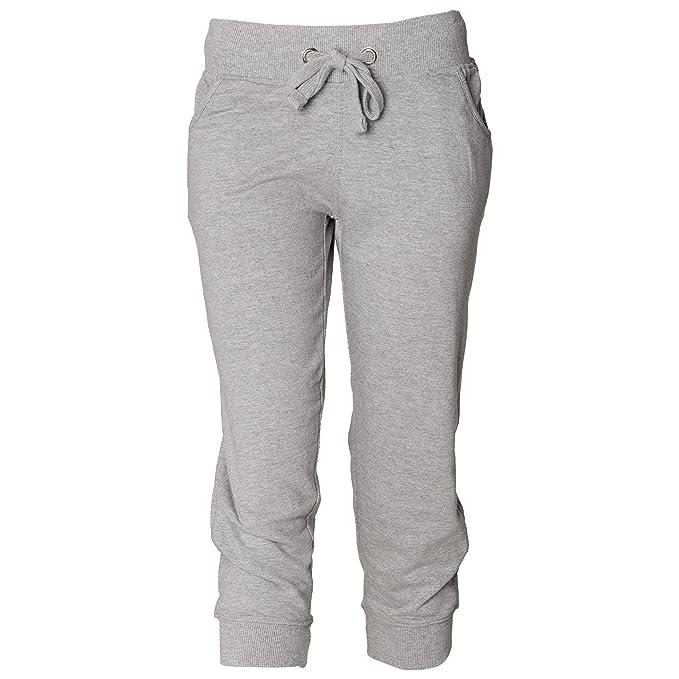 Skinni Fit - Pantalones de chándal 3/4 para mujer: Amazon.es: Ropa ...