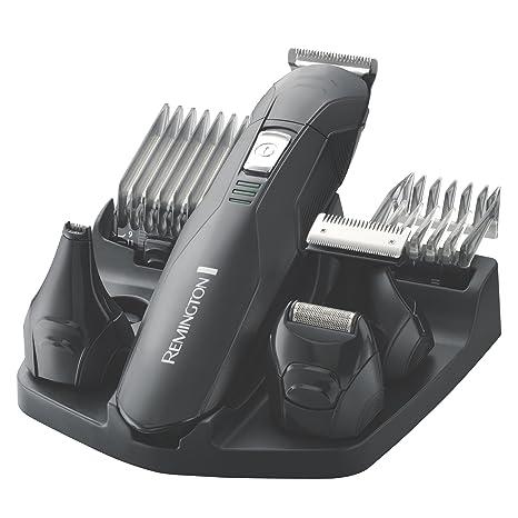 Remington PG6030 - Afeitadora eléctrica, con cabezales intercambiables, color negro