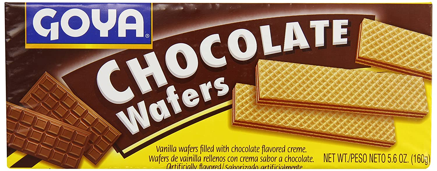 Goya Wafer Chocolate Cookies, 5.6-Ounce Units (Pack of 30): Amazon.com: Grocery & Gourmet Food