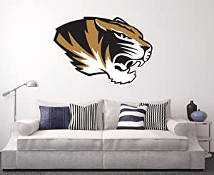 Missouri Tigers Wall Decal Home Decor Art NCAA Team Sticker