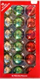 Amazon.com: Collections Etc - Red & White Christmas Ornament Ball Finial Topiary Stake: Home ...