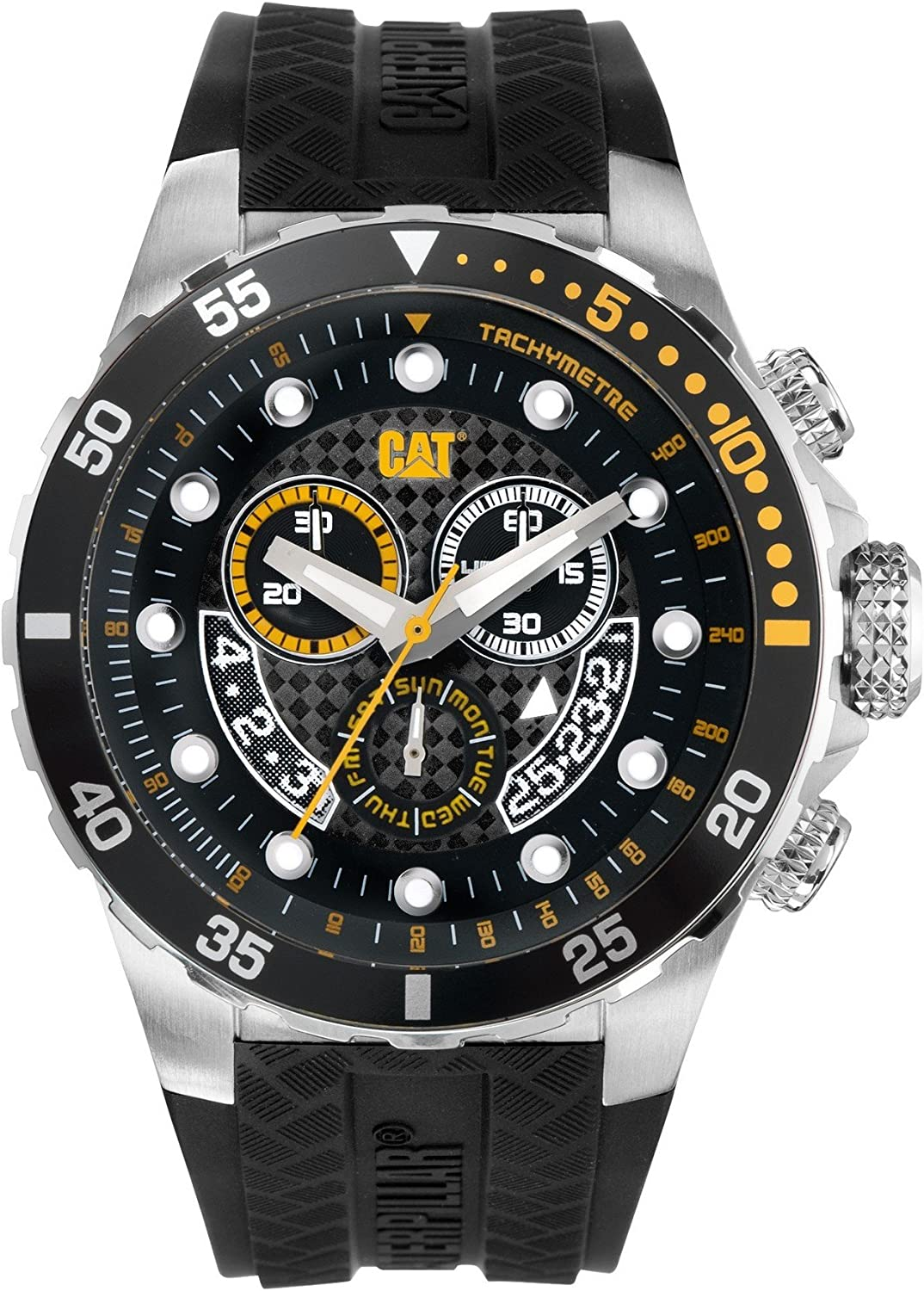 CAT Watches – P52 Sport Chrono – Black Black