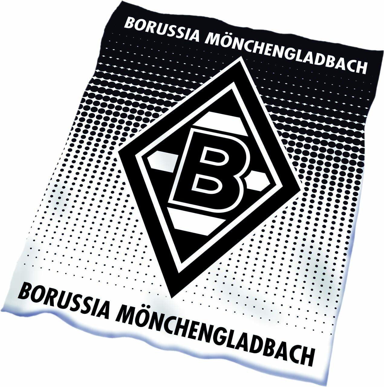 Borussia Mönchengladbach Soft Coral Fleecedecke Punkteverlauf