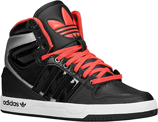 Adidas Court Attitude K Black White Kids Trainers Size 38 2