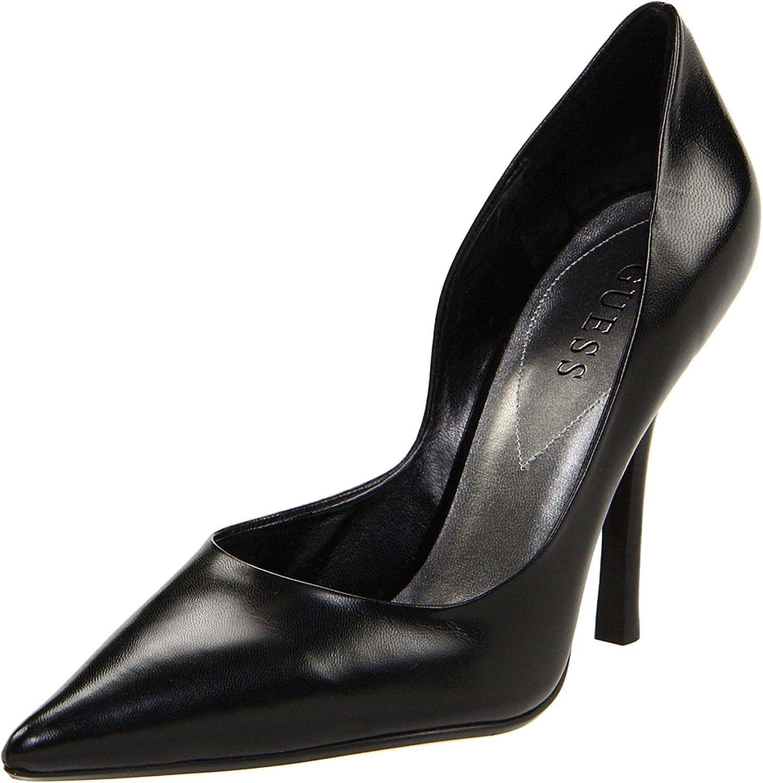 GUESS Women's Carrie dress Pump B000XRLFGI 7.5 B(M) US|Black