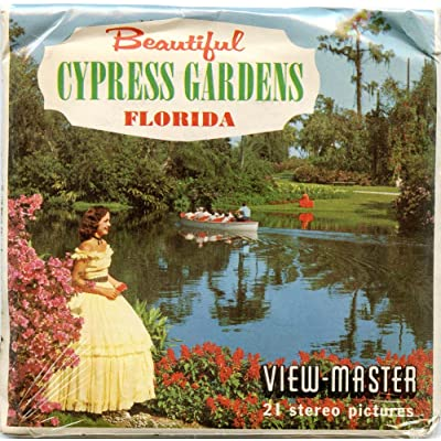 Classic ViewMaster - Beautiful Cypress Gardens, Cypress Gardens, Florida - ViewMaster Reels 3D - Unsold store stock - Never opened: Toys & Games