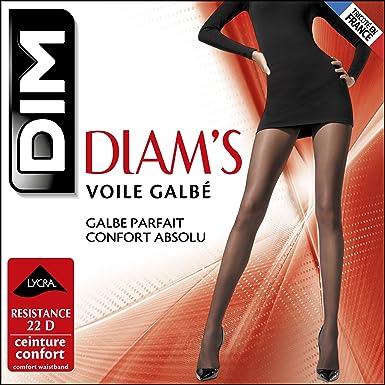 Dim Diam s Voile Galbé - Collants - 22 deniers - Femme - Ecureuil ... e651f0a8d6c