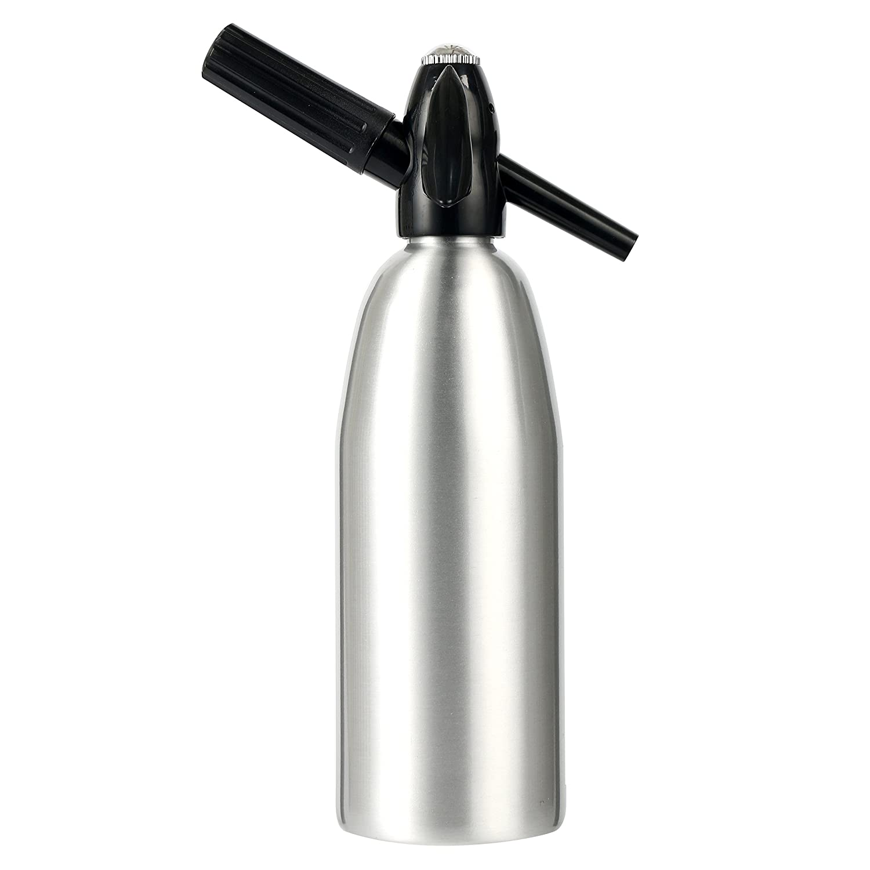 YaeKoo Soda Siphon Aluminum - 1 Liter (Silver) Yaemart Corportation