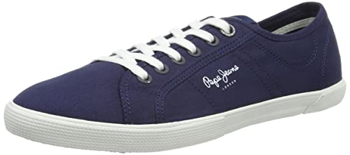 Pepe Jeans London - Zapatillas Mujer, Azul (Ocean), 36 (EU)