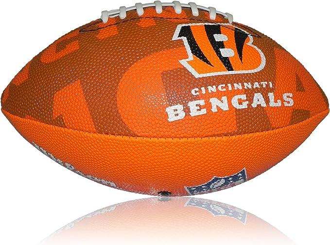 Wilson Football NFL Junior Cincinnati Bengals Logo - Balón de ...