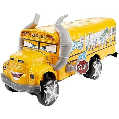 Cars Disney 3-Mega Vehicule Miss Fritter, DXV94