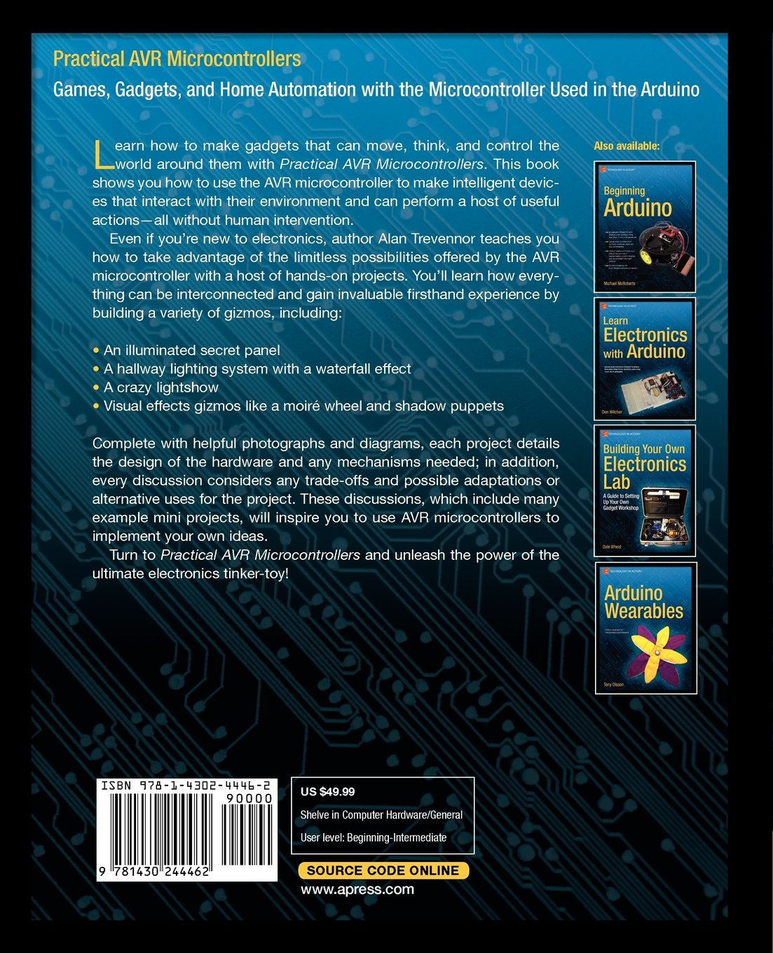 Practical AVR Microcontrollers: Games, Gadgets, and Home