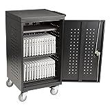 30-Bay Assembled Laptop/Tablet Charging Cart