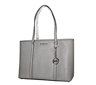 684df4d5ead Image Unavailable. Image not available for. Color  MICHAEL Michael Kors  Women s SADY Large Leather Top Zip TOTE Handbag