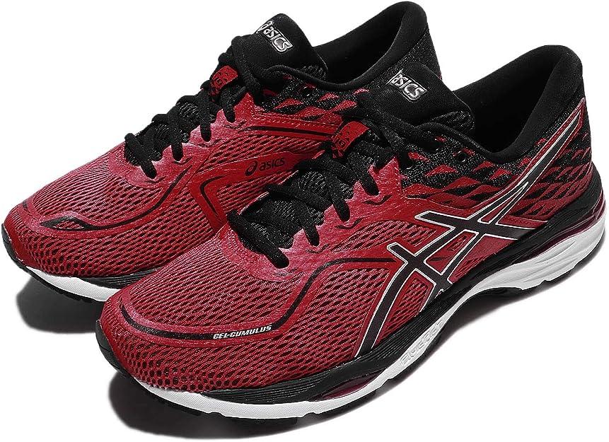 Asics T7B3N2390, Zapatillas de Running para Hombre, Rojo (Prime Red/Black/Silver), 39 EU: Amazon.es: Zapatos y complementos