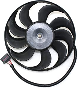 Cooling Fan Assembly Compatible with Volkswagen BEETLE 1998-2006 Passenger Side 220/60w - 290mm Diameter