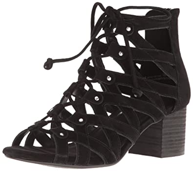 9d128889183 Aerosoles Women s Middle Ground Dress Sandal Black Suede 5 ...
