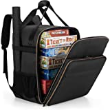 Trunab Board Game Backpack Padded Board Game Bag Carrier for Most Board Game Storage , Card Game, with Large Accessory Pocket