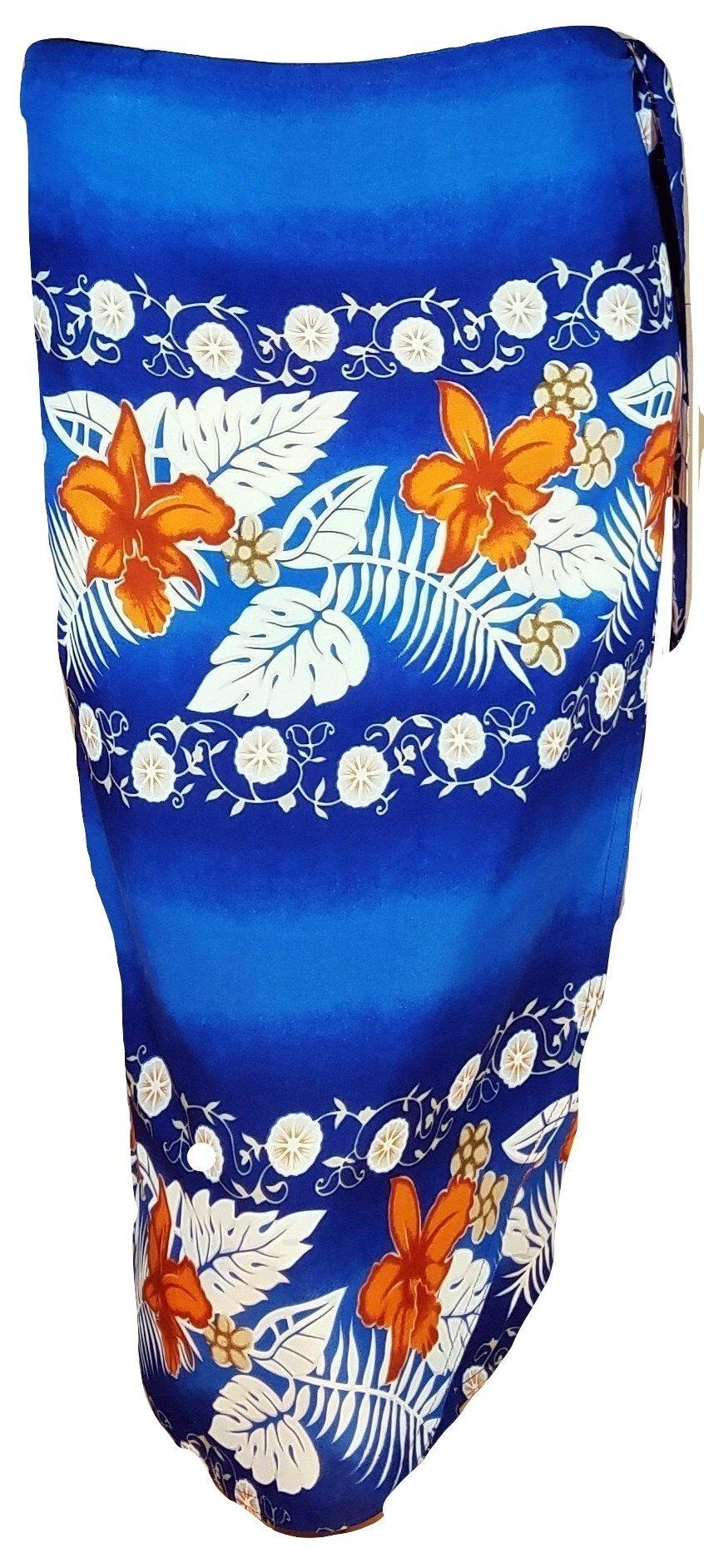 Summer Time Breeze Women's Spring Skirt Wrap (Blue)