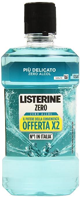 6 opinioni per Listerine- Zero Alcol, Collutorio Più Delicato Offerta, 500 ml (Confezione da