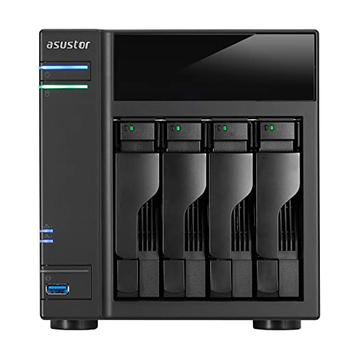 Asustor AS6104T Network Attached Storage