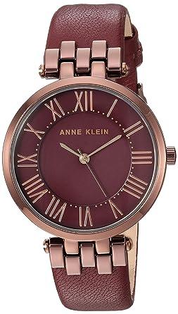 Women's Klein Leather Strap Watch Anne jLA54R