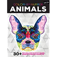 Animals (Color by Number): 30 fun & relaxing color-by-number projects to engage & entertain