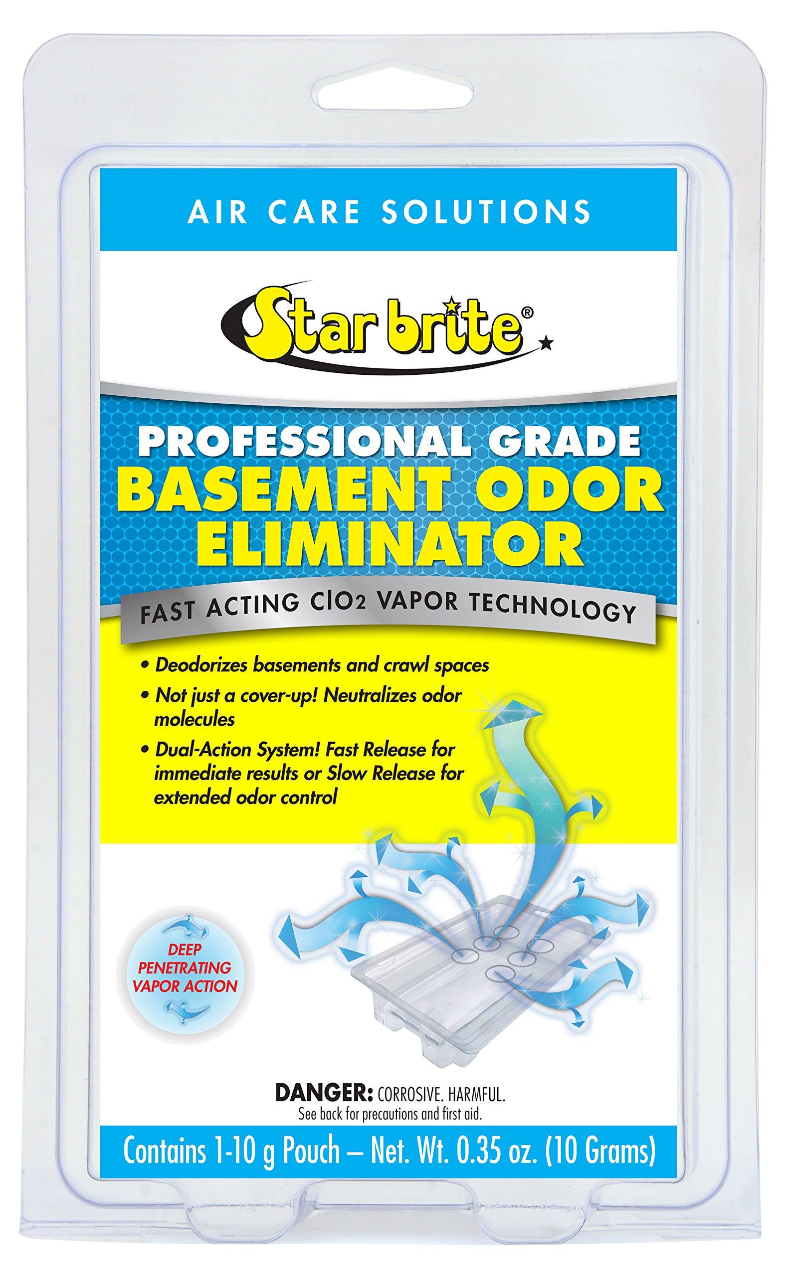 Star brite Basement Odor Eliminator - Fast Acting Vapor Technolgy