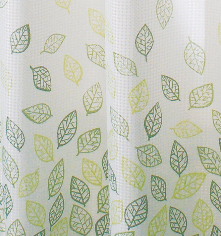 Amazon.com: InterDesign Botanical Shower Curtain, 72-Inch by 72 ...