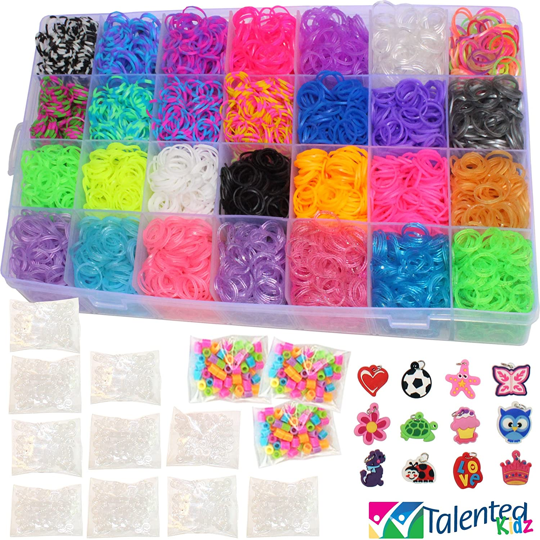 11 750 Tie Dye Fashion Original Rainbow Mega Refill Loom