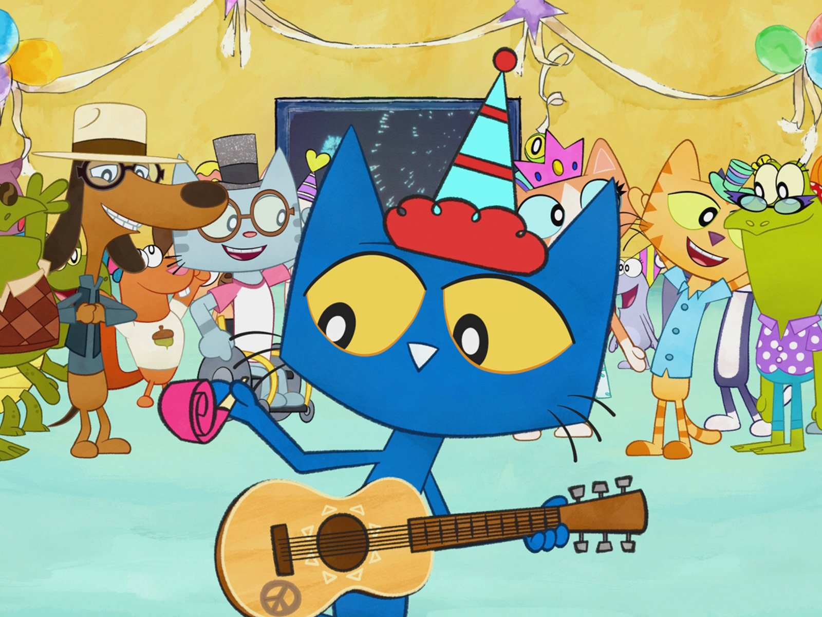 Galleon Pete The Cat A Groovy New Year