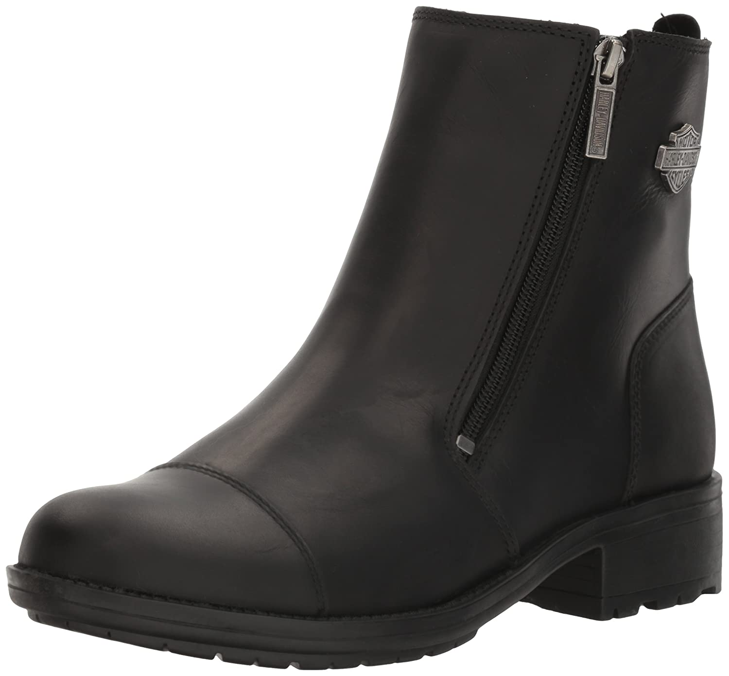 Harley-Davidson Women's Senter Work Boot B01KVUTHHK 9 B(M) US|Black
