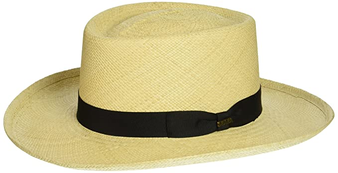 4d1a9d354ed05 Scala Men s Panama Gambler Hat at Amazon Men s Clothing store