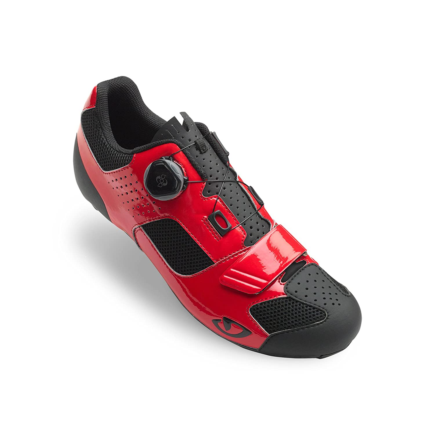Trans Boa Matte Red Black Road Bike Shoes Size 39