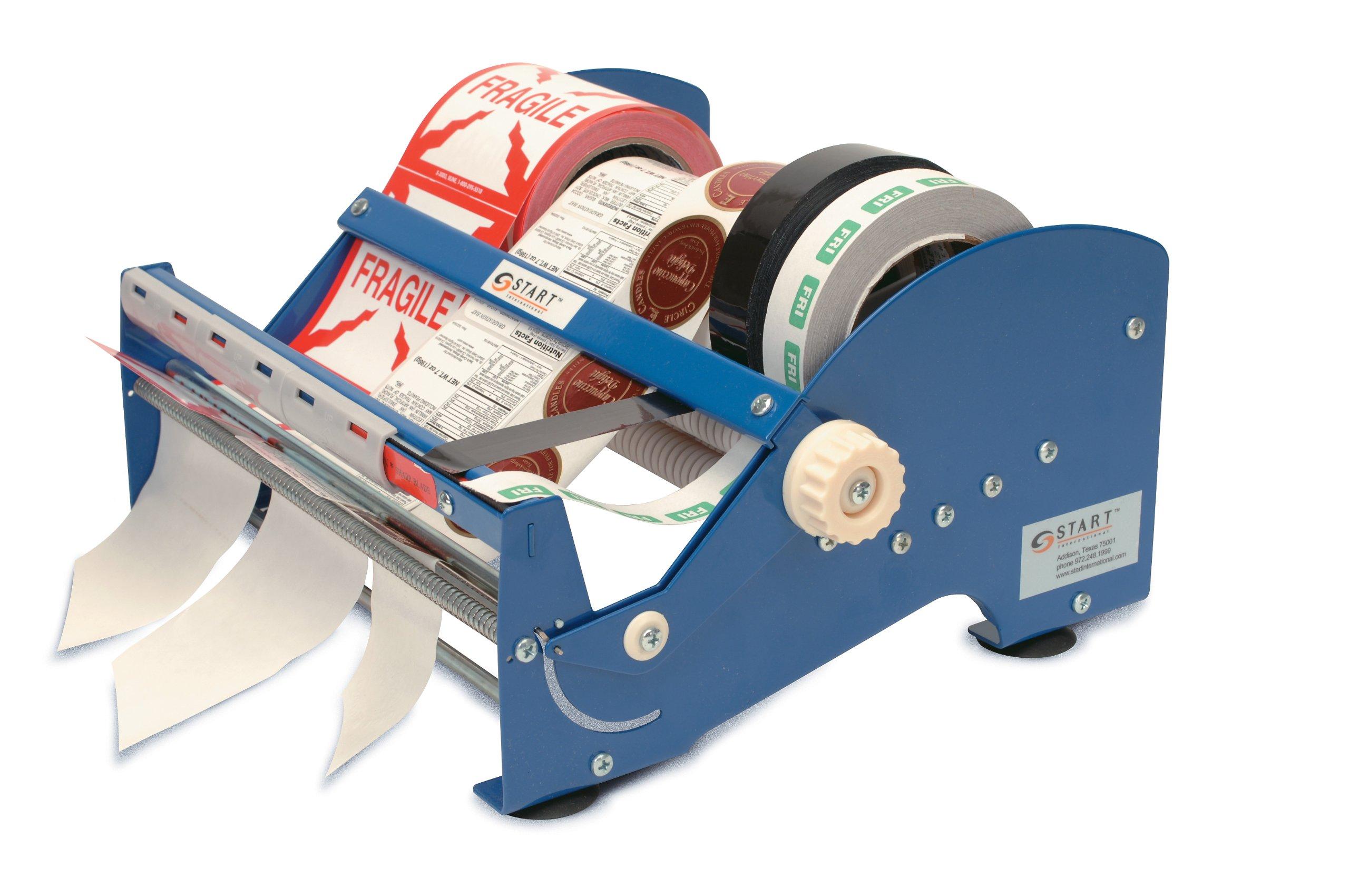 START International SL9512 Multi Roll Label Dispenser, 12.32'' Length x 14.63'' Width x 7.00'' Height