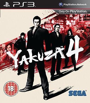 Kết quả hình ảnh cho Yakuza 4 cover ps3