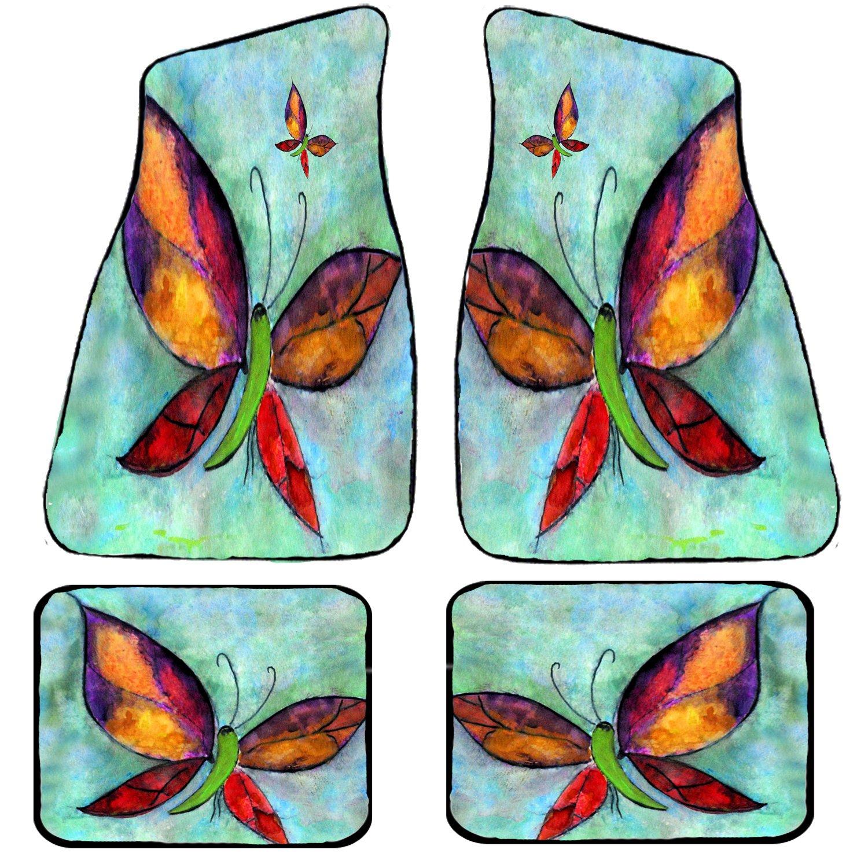Butterflies Art Auto Car Floor Mat Sets by xmarc (Image #1)
