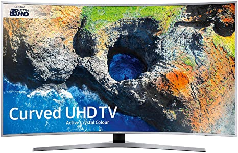 SAMSUNG Ue49mu6500 49 Pulgadas Curva de TV - Plata: Amazon.es: Electrónica