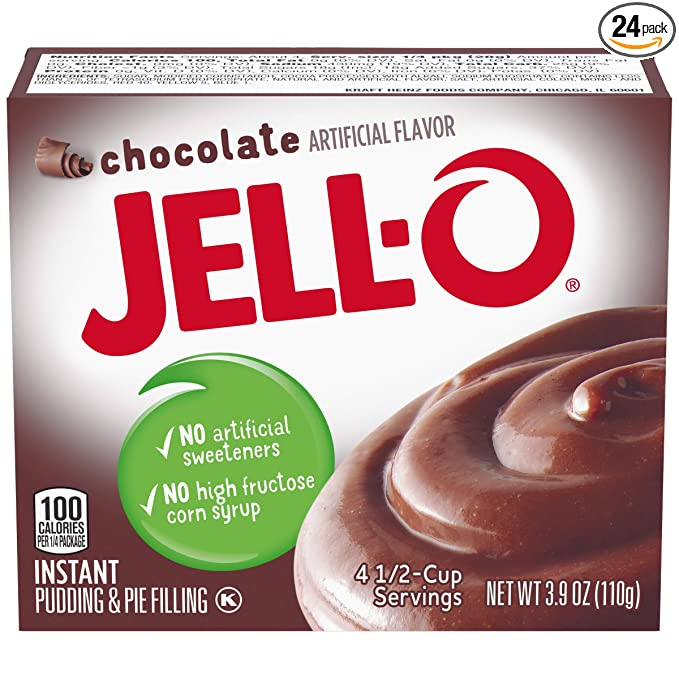 Image result for jello instant chocolate pudding