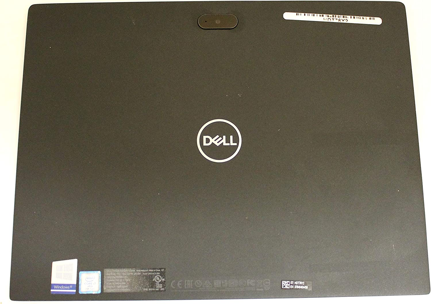 RHPRT Dell Latitude 7285 Genuine LCD Back Cover with Antenna R9P7P FTWKY